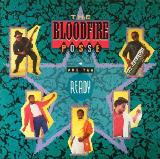 Bloodfire Posse (The) ‎- Are You Ready (LP) (VG-EX/G+)